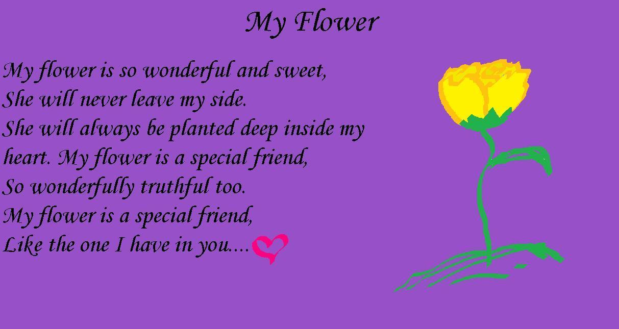Magic Flower Poem