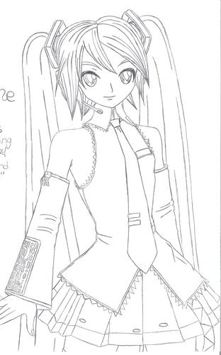 My Miku Hatsune Drawing