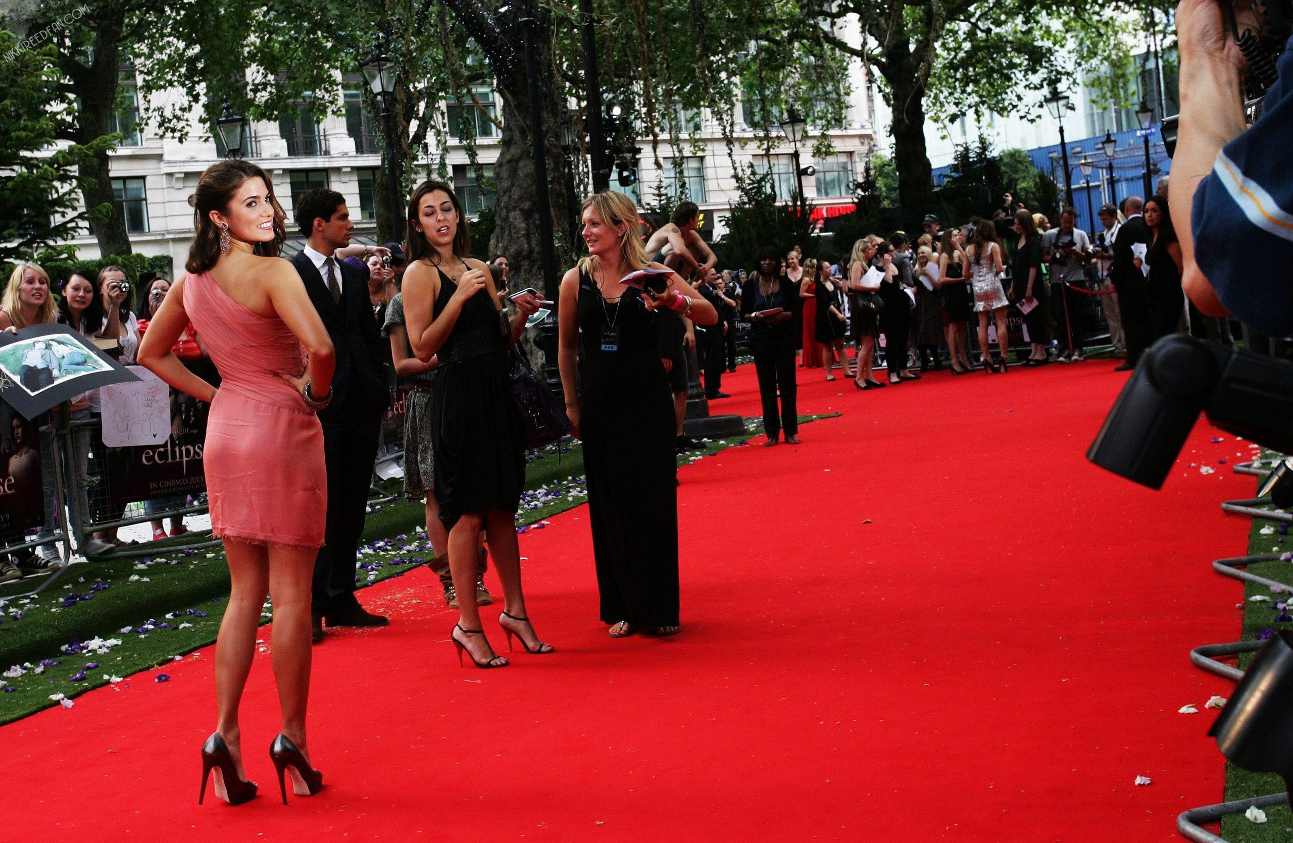Nikki at London Eclipse Premiere!