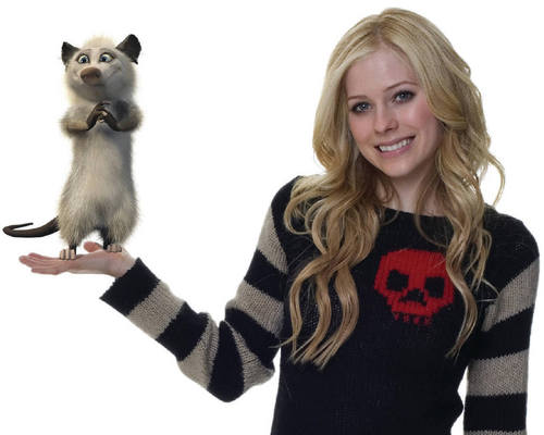 Over The Hedge - Avril Lavigne as Heather!