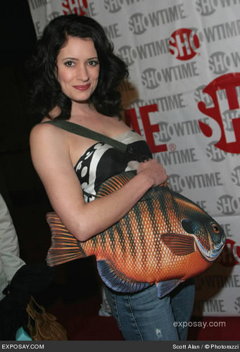 Paget Brewster wallpaper called Paget@TCA- Press Tour Party 2005