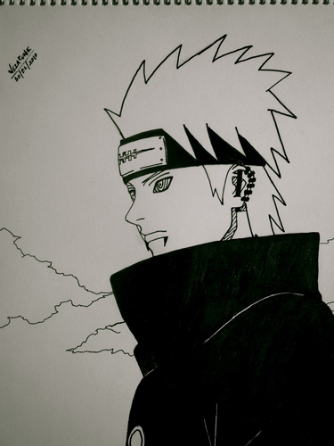 Naruto Shippuuden wallpaper entitled Pain