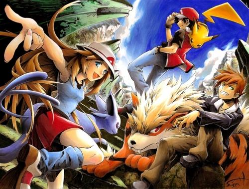 pokémon wallpaper called Pokemon Trainer~