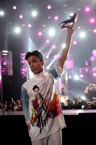 Prince at BET Awards