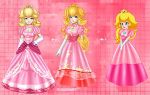 Princess Peach wallpaper titled Princess Peach:D