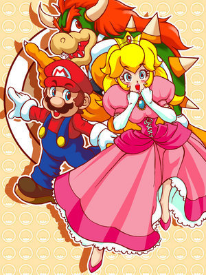 Princess Peach wallpaper entitled Princess Peach:D