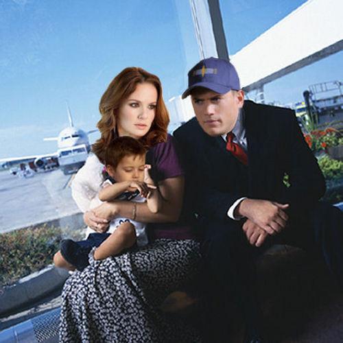 Prison Break - Michael, Sara, MJ