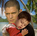 Prison Break - Michael Scofield & his son MJ