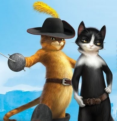 Puss In Boots And Kitty