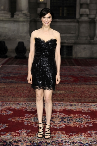 Rachel @ Dolce & Gabbana: 20 Years of Menswear - Milan Fashion Week