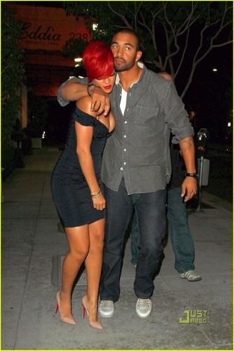 Rihanna & Matt Kemp: Mastro's Dinner Date
