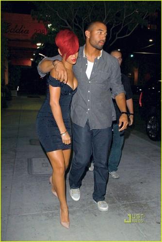Rihanna & Matt Kemp: Mastro's abendessen datum