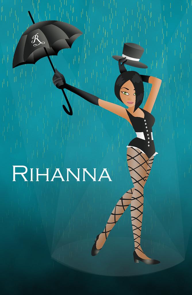 rihanna images umbrella - photo #31