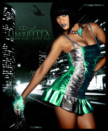 Rihanna ― Umbrella [Good Girl Gone Bad] - Rihanna Fan Art ...