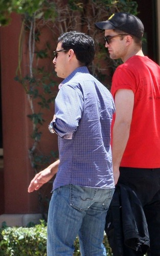 Robert out in Glendale