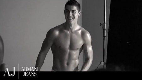 Cristiano Ronaldo wallpaper called Ronaldo Armani Photoshoot
