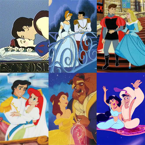 Royal Disney Couples