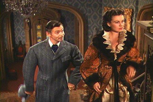 Scarlett O'Hara and Rhett Butler