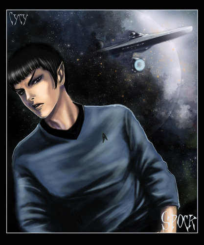 Star Trek (2009) wallpaper titled Spock