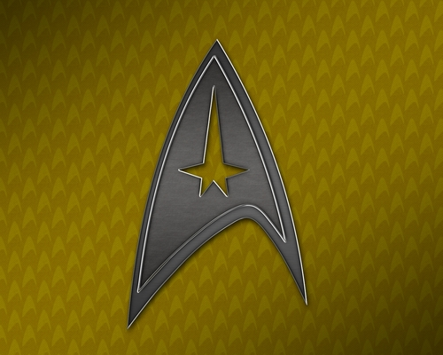 étoile, star Trek Command Insignia