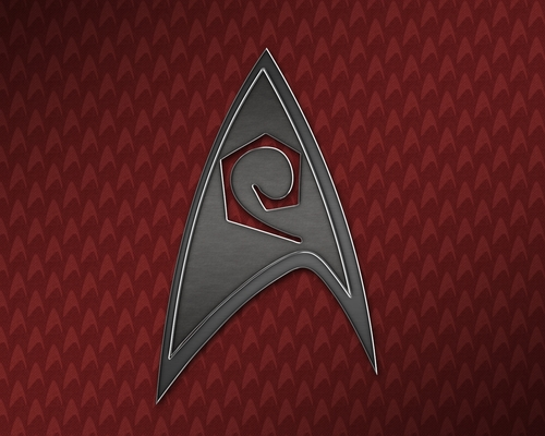 étoile, star Trek Engineering Insignia