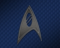 星, つ星 Trek Science Insignia