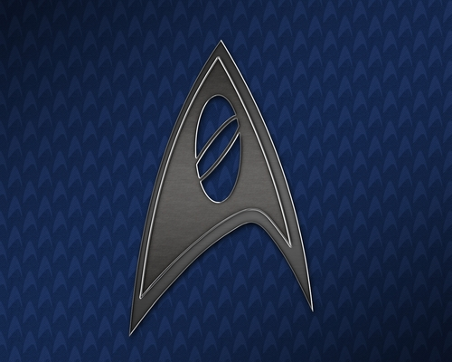 별, 스타 Trek Science Insignia