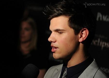 Taylor Lautner & Kristen Stewart At The New York City Screening Of Eclipse