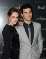 Taylor Lautner & Kristen Stewart At The New York City Screening Of Eclipse - twilight-series photo