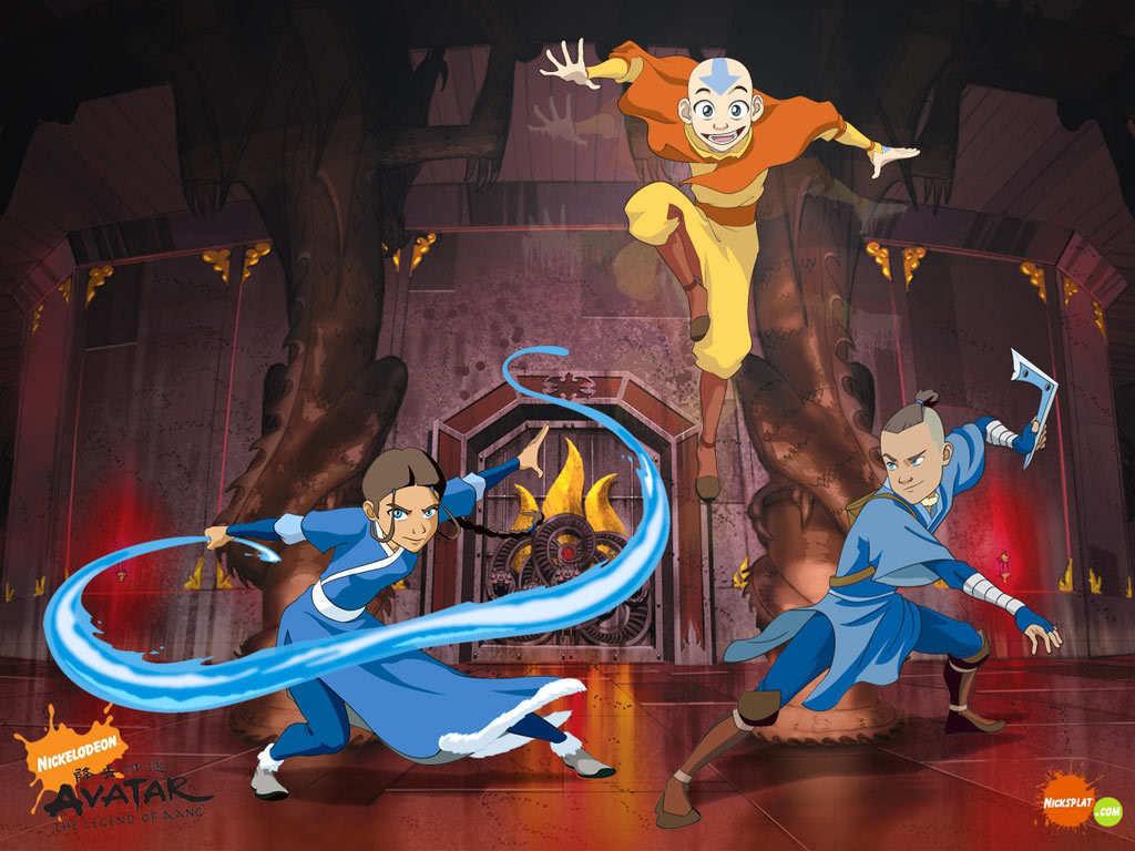 Team Avatar - avatar-the-last-airbender wallpaper