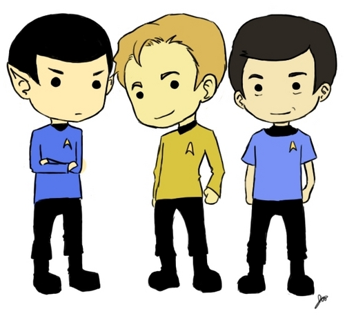 The Three Amigos - star-trek-2009 Fan Art