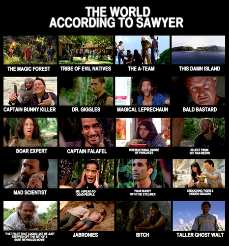 The World According to Sawyer