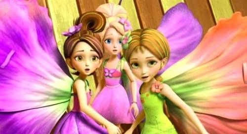 Thumbelina, Chrysella, Janessa