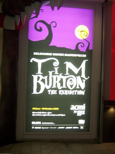 Tim aparejo, burton Exhibition at ACMI, Melbourne, Australia