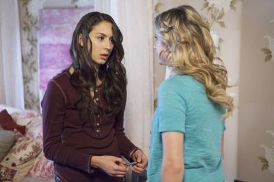 Troian as Spencer in PLL