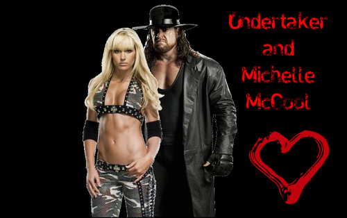 Undertaker and Michelle McCool