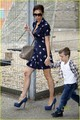 Victoria Beckham: High Heels for Playdate! - victoria-beckham photo