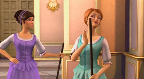 Viveca and Aramina as maids