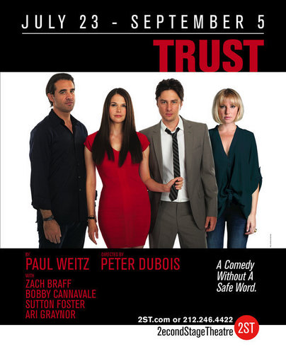 """Zach Braff 바탕화면 called Zach in """"Trust"""""""