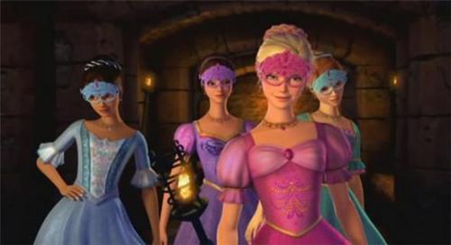 Барби and the three musketeers