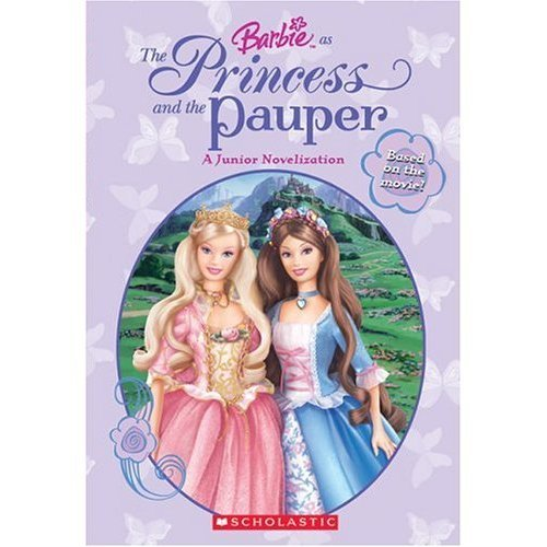 Barbie as the princess and the pauper book