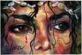 bleeding eyes of pain,joy,and love - michael-jackson photo
