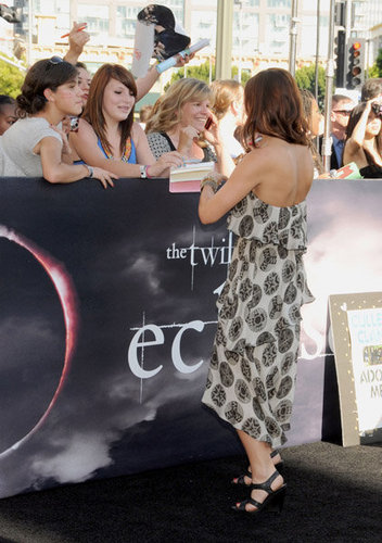 bri on Eclipse premiere