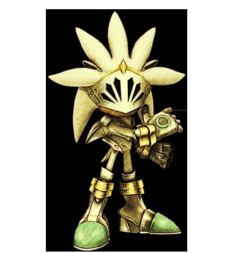 Silver the Hedgehog wallpaper called galahad