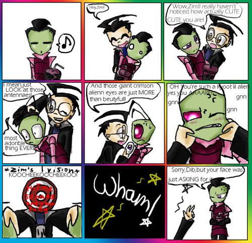 Invader Zim wallpaper called its true that zims cute
