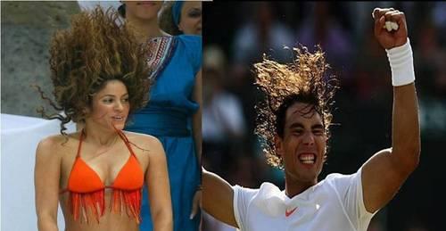rafa shakira hair