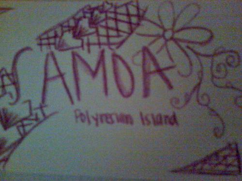 samoa polynesian island