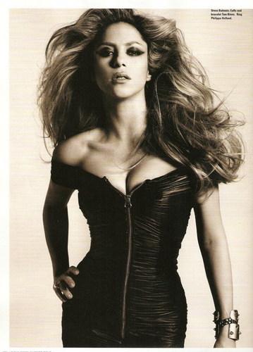 Shakira push-up