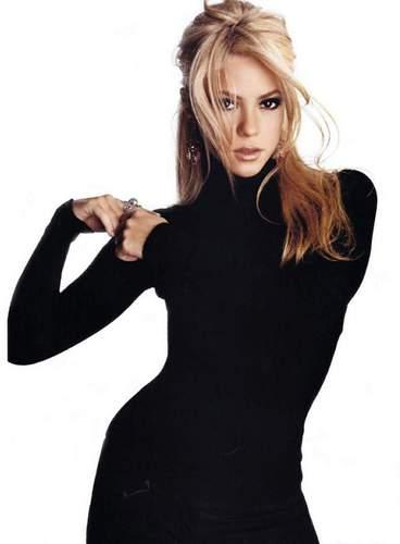 Shakira turtleneck