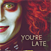 Alice in Wonderland (2010) picha entitled you're late:)